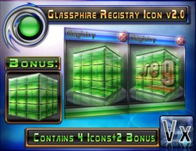 Glassphire Registry Icon v2.0