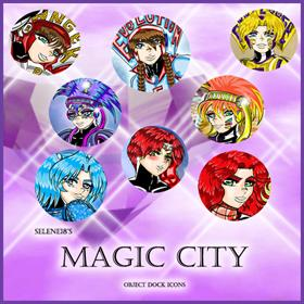Magic City Icons set vol. 1