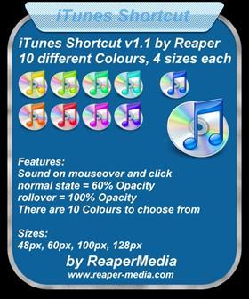 iTunes Shortcut v1.1