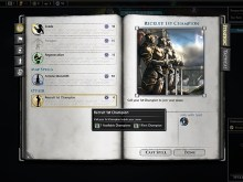 Recruit Champion Mini-Mod for LH 0.75