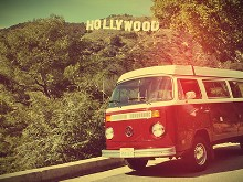 VW Van Hollywood Vintage