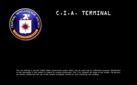 CIA logon by XG7