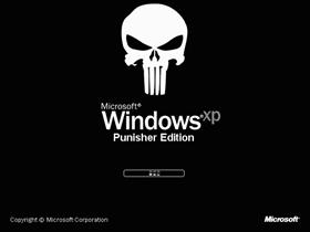 Windows XP Punisher Edition