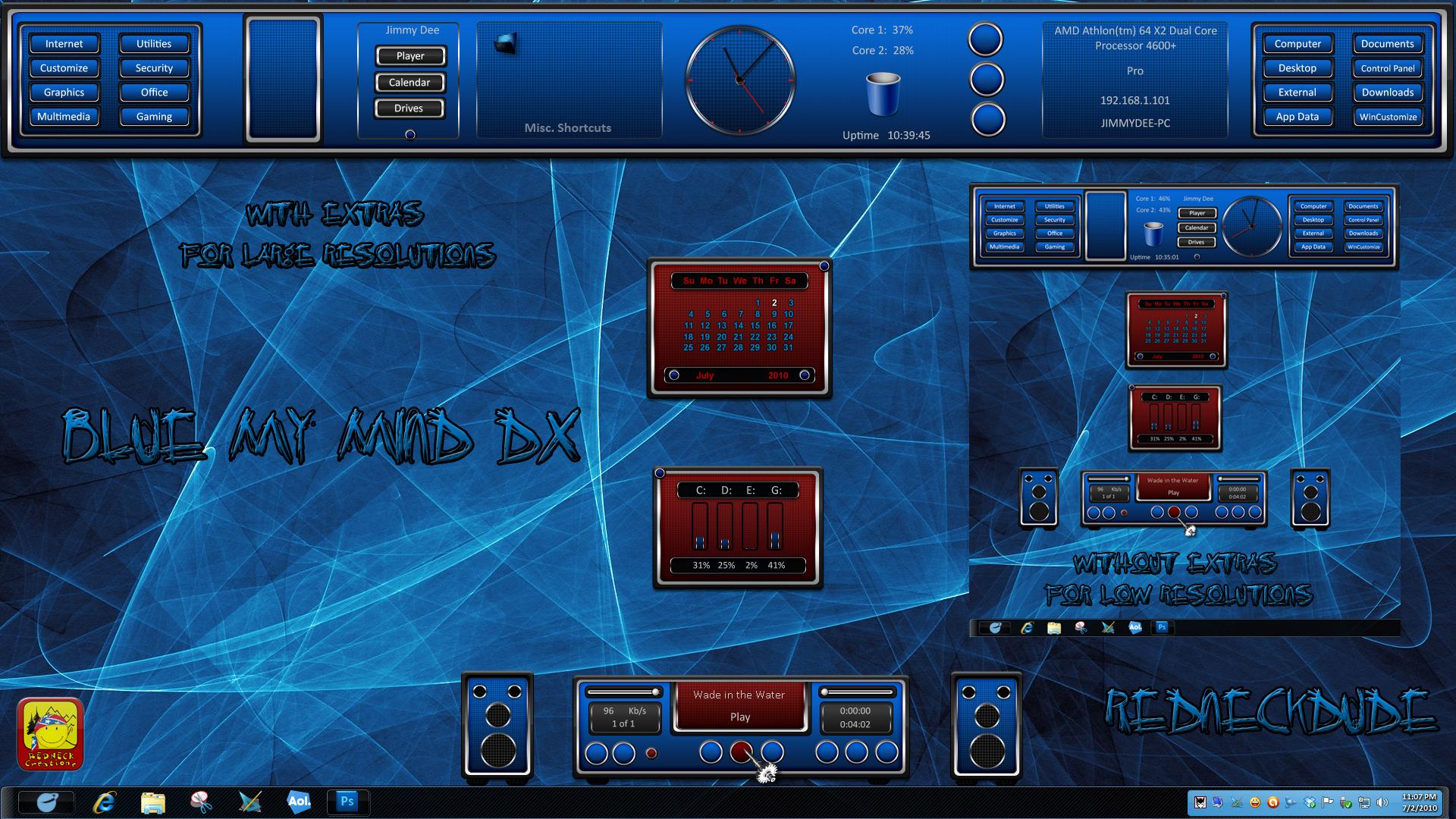 Blue My Mind DX