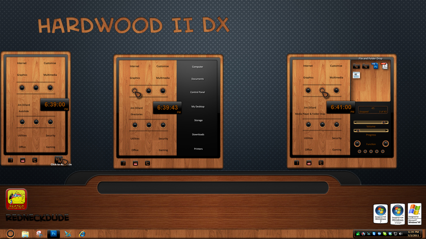 Hardwood DX II