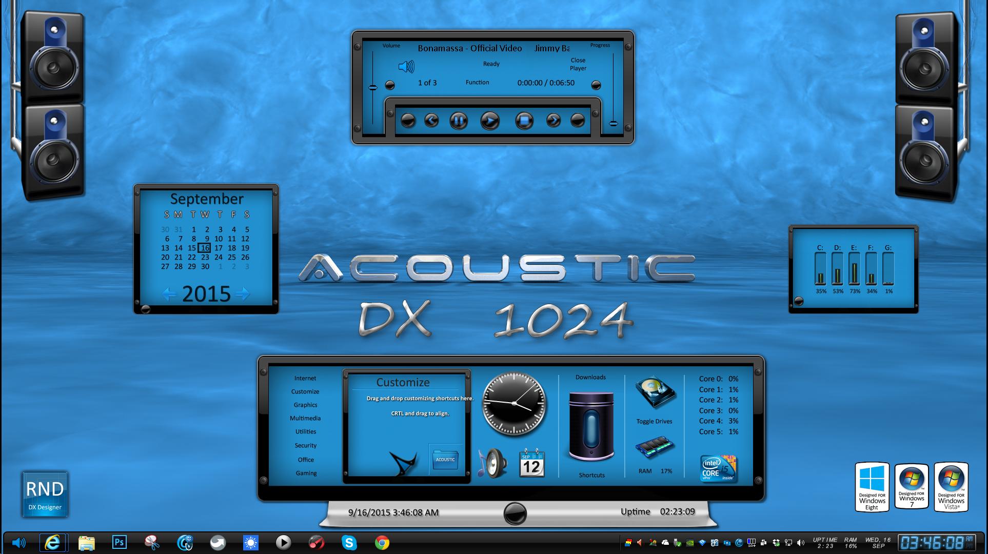 Acoustic DX 1024