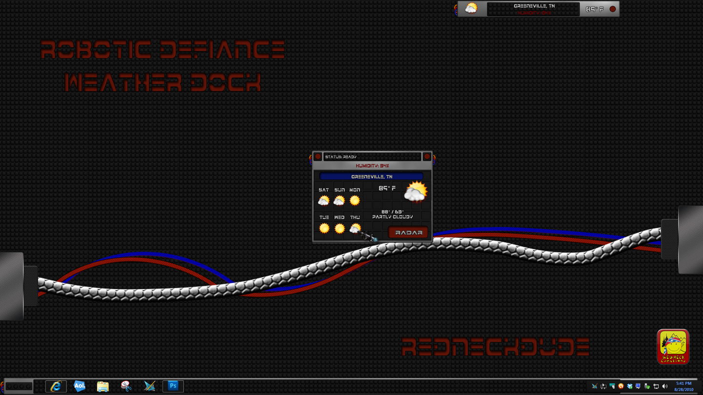 Robotic Defiance Weather Dock