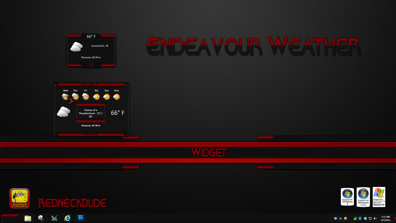 Endeavour Weather Widget