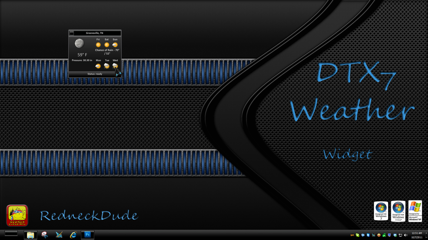 DTX 7 Weather Widget