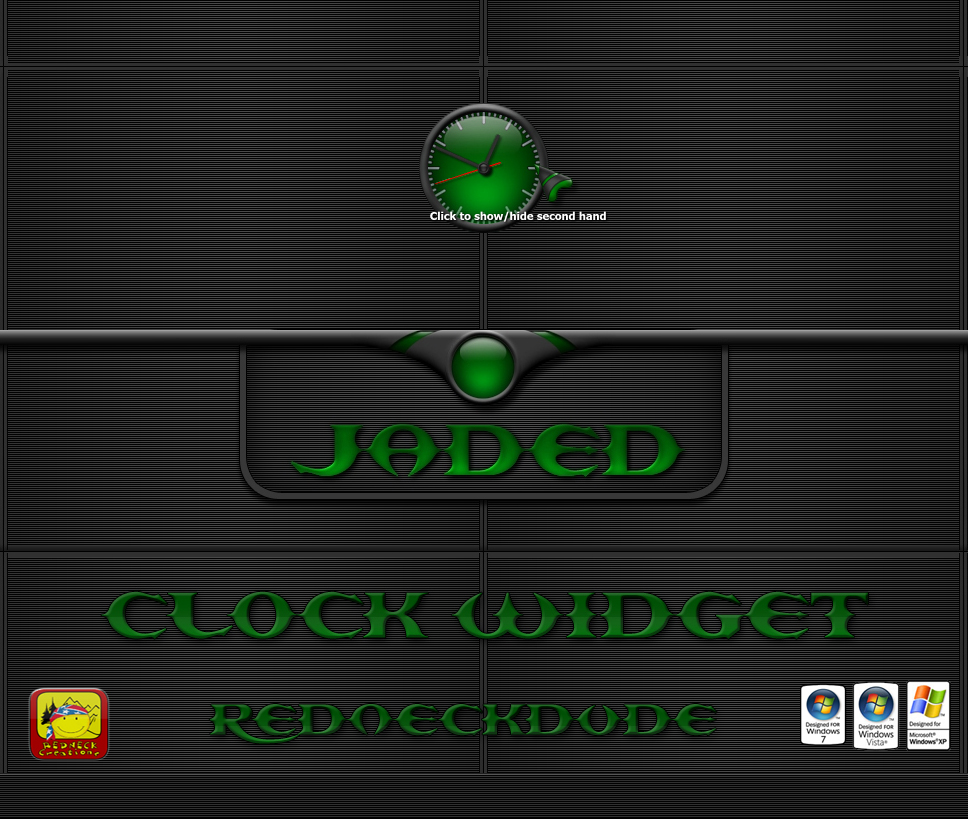 Jaded Clock Widget