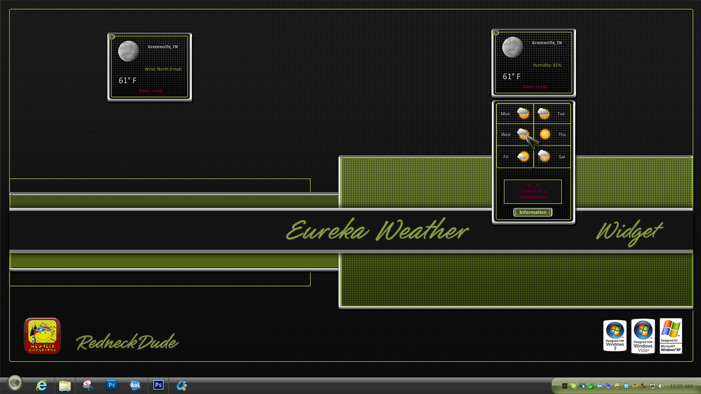 Eureka Weather Widget