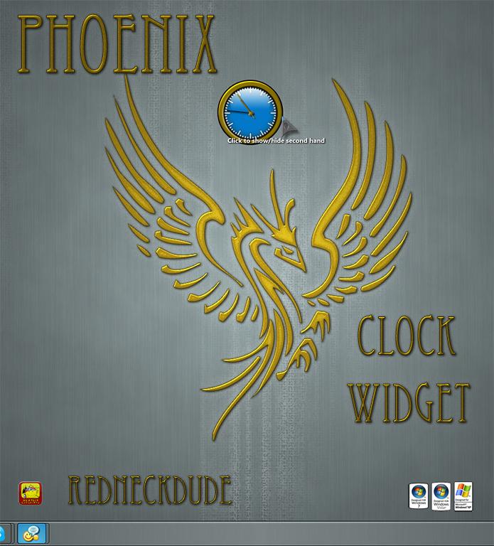 Phoenix 2012 Clock Widget