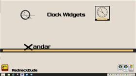 Xandar Clock Widgets