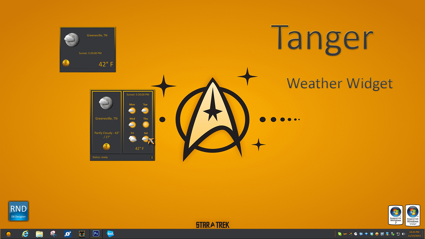 Tanger Weather Widget