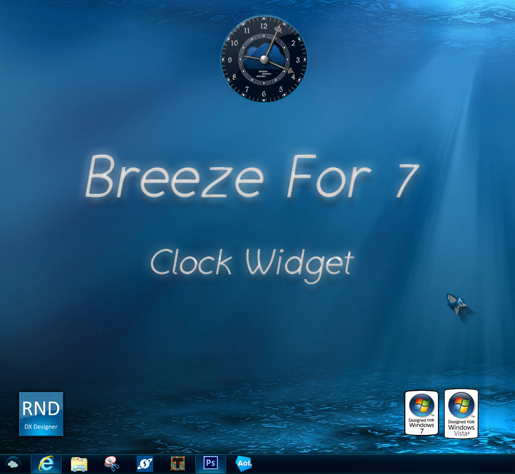 Breeze For 7 Clock Widget