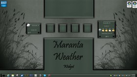 Maranta Weather Widget