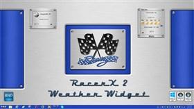 RacerX2 Weather Widget