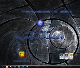 Transcend 2011 Sidebar Clock Gadget