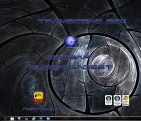Transcend 2011 Sidebar Clock Gadget
