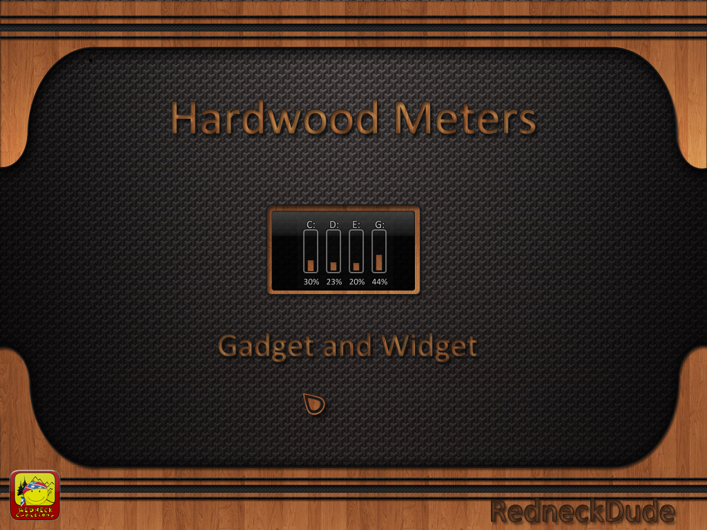 Hardwood Meters Gadget and Widget