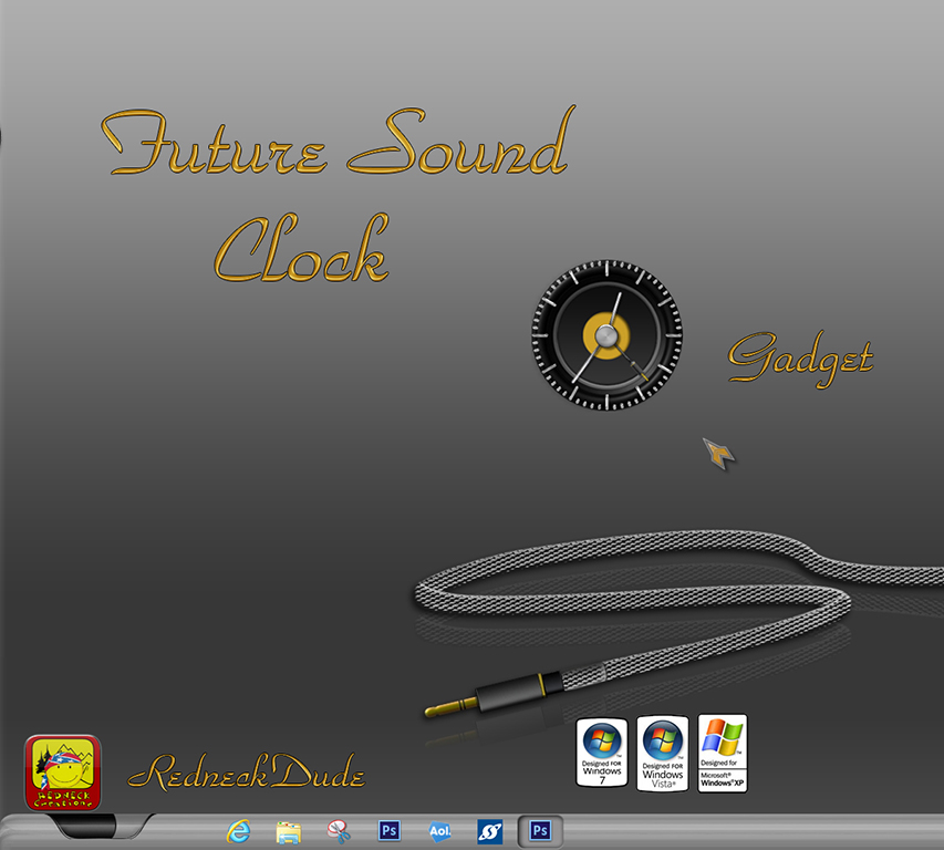 Future Sound Clock Gadget