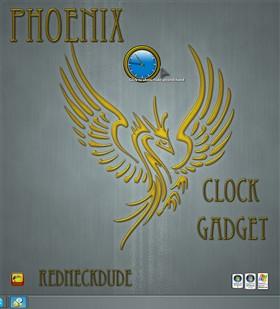 Phoenix 2012 Clock Gadget