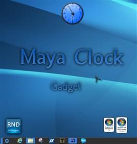 Maya Clock Gadget