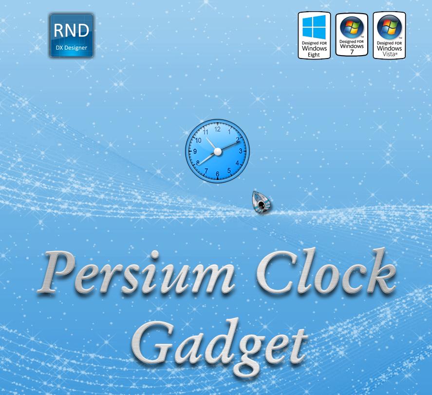 Persium Clock Gadget