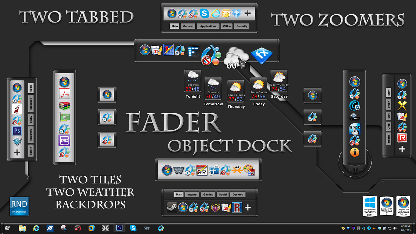 Fader Docks