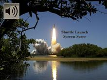 shuttle launch screen saver