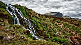 Trickle Rock Falls HDR