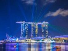 4K Singapore Lights