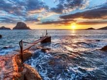 Spanish Sea Sunset HDR