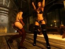 Skyrim Dancing Queens