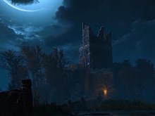 Witcher 3 Night Scenery