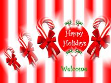Candy Canes Logon