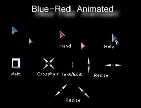 Blue-Red Animated