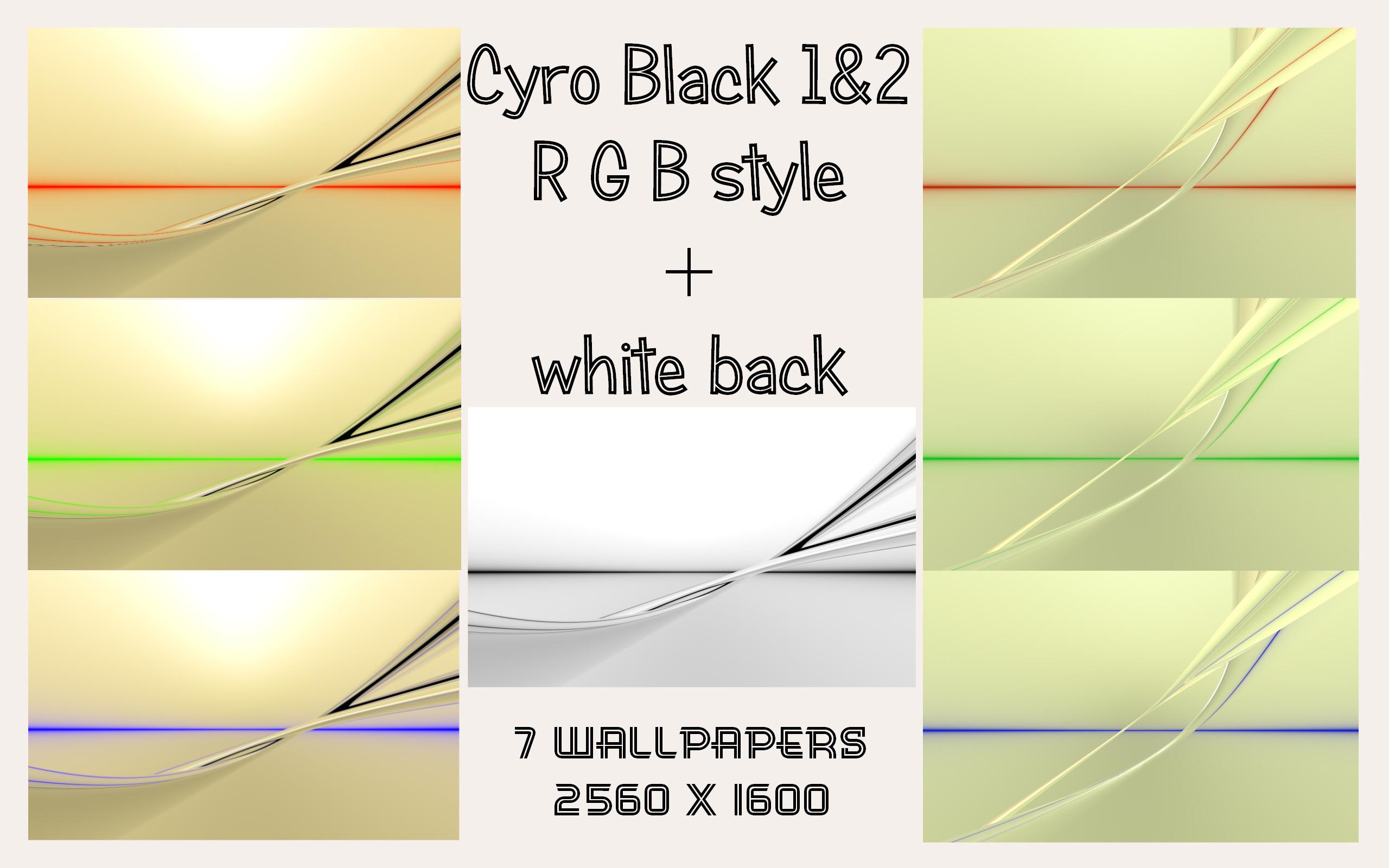 Cyro Black RGB