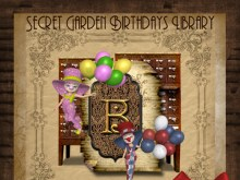 Secret Garden Birthdays Library