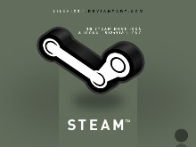 Steam Dock Icon 3D Logo