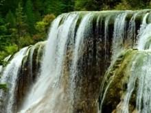 slow motion waterfall