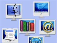iMac G-5 folder icons