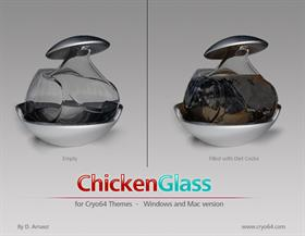 Chicken Glass Diet-Coke