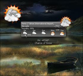System weather_w.c.