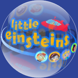 glass sphere - Little Einsteins