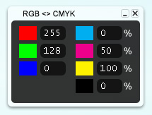 RGB2CMYK