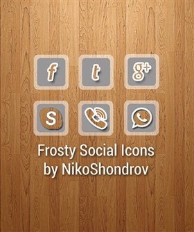 Frosty Social IconsAndroid