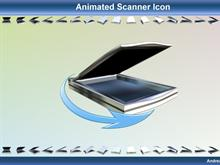 Animated Scanner Icon