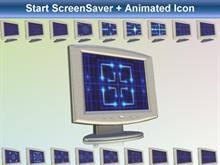 Start ScreenSaver + Animated Icon