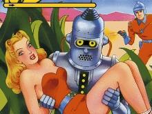 Bender abducts a blonde